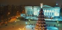 Огни новогодней тюмени